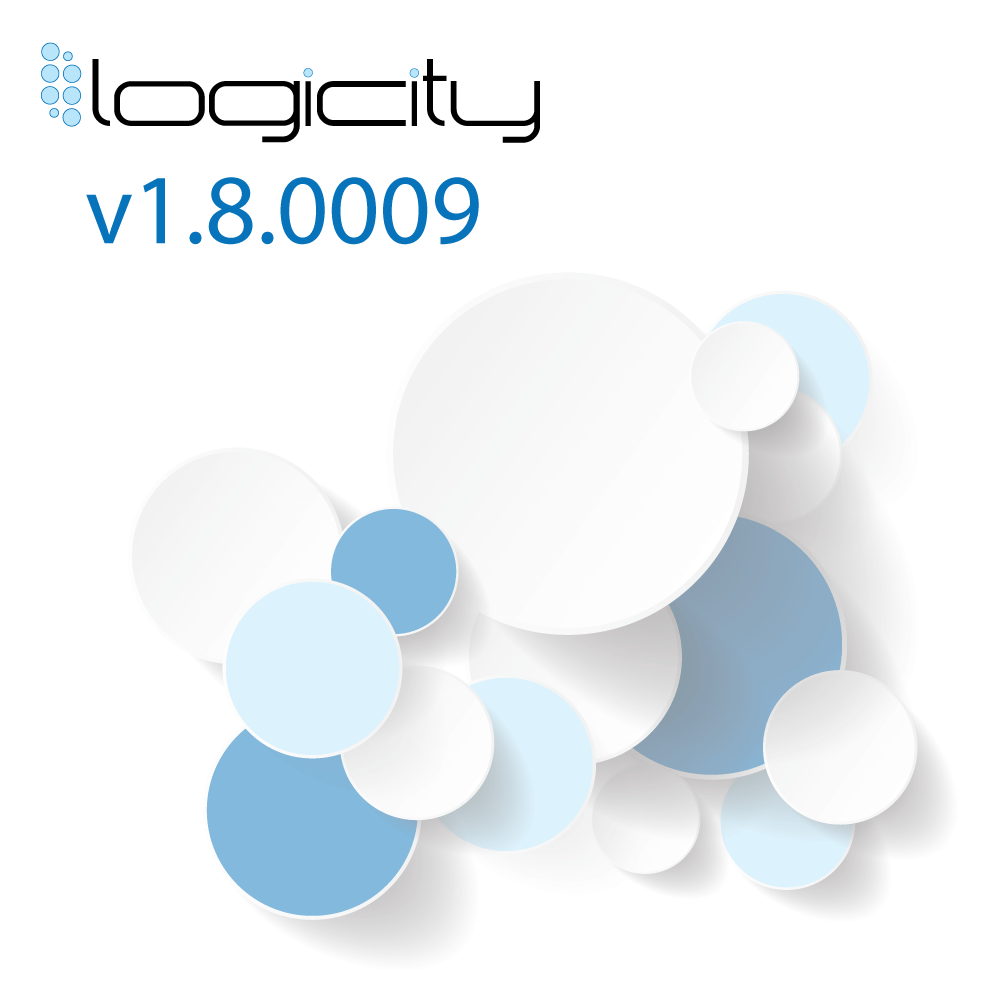 Logocity blog post about release version 1.8.0009