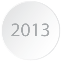 Logicity is a Crystal Reports viewer 2013 and is represented by a branding-styled circle with the year 2013 displayed