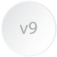 Logicity is a Crystal Reports viewer 9 and is represented by a branding-styled circle with the numbers 9