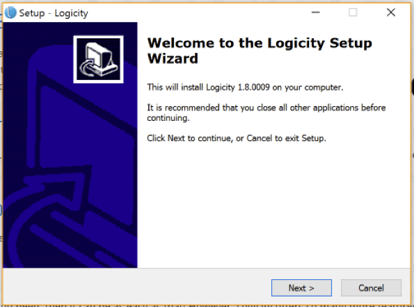 Logicity User Guide - install - Step 1