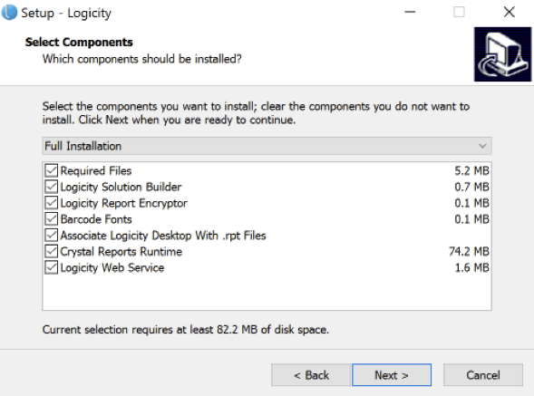 Logicity User Guide - installation - Step 6