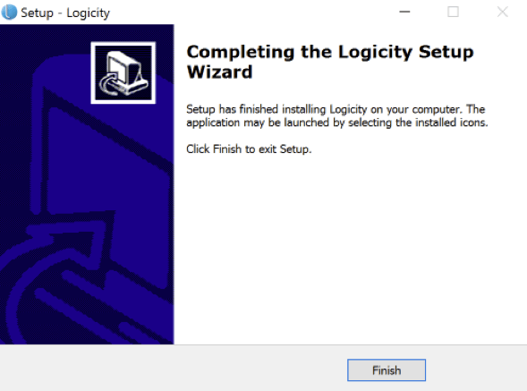 Logicity User Guide - installation - Step 9